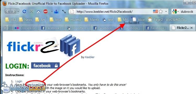 Importare le foto di Flickr su Facebook [MegaLab it]