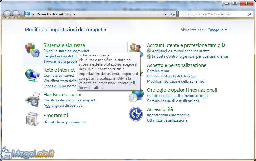 Ripristinare La Sospensione In Windows 7 Megalabit