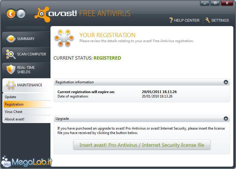 Avast Free Antivirus 2015 Key 2095