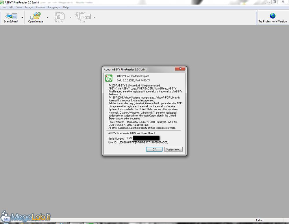 Abbyy Finereader 9.0 Sprint Update