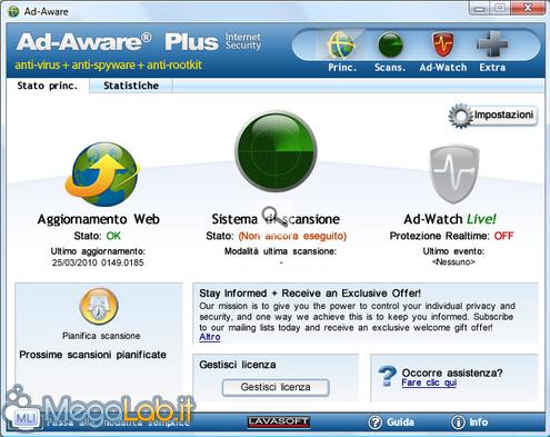Compatibile con windows 2000/xp/vista/7 potete trovare una comparativa tra le 3 diverse versioni disponibili: free
