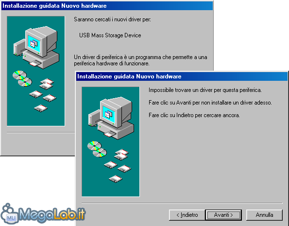 freeware driver chiave usb windows98