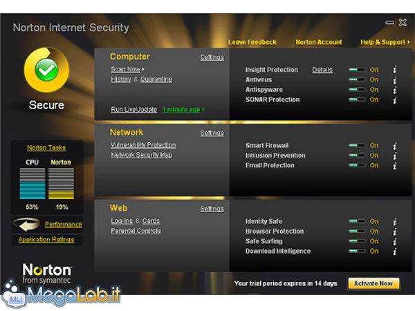 norton antivirus versione prova