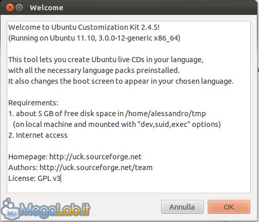 Crea il tuo Live CD personalizzato di Ubuntu con UCK