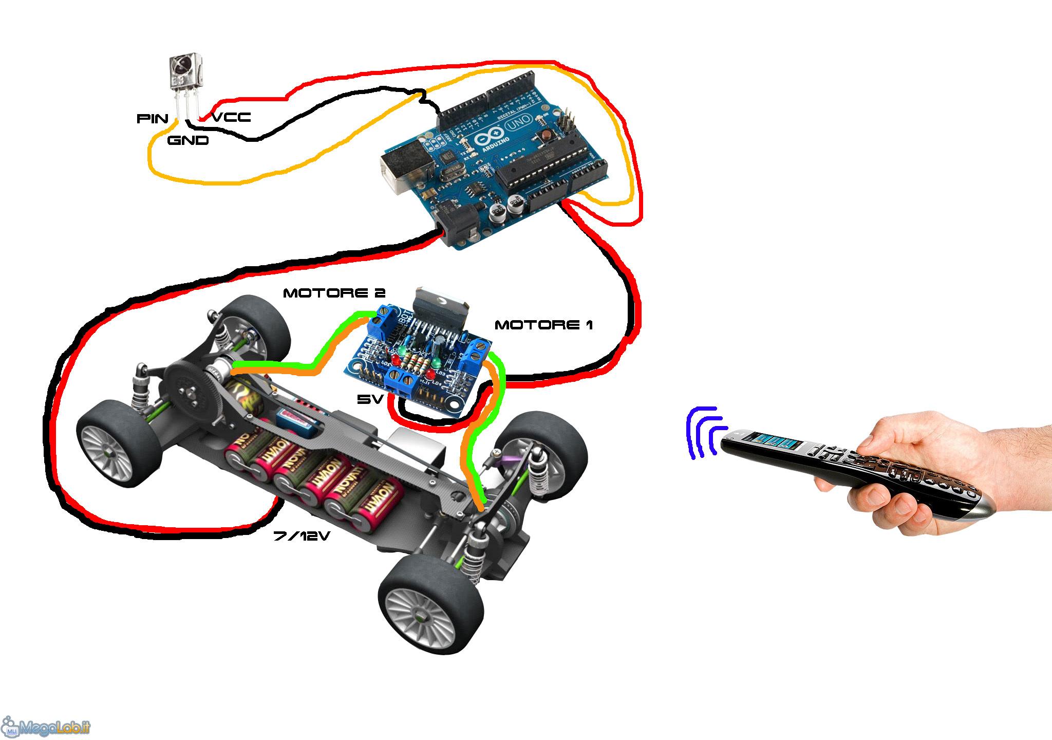 Schema Elettrico Auto : Schema elettrico