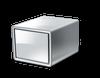 Box, scatola, cilindro, headless, server, cubo