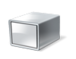 Box, scatola, cilindro, headless, server, cubo
