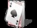 Carte, gioco, poker, picche, picca, mazzo, giocare