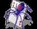 Carte, gioco, poker, picche, picca, mazzo, giocare, spiders, quadri, quadro, ragno