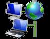 Connessione, connesso, PC, mondo, earth, ADSL, network, LAN