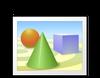 3d, disegno, cad, sfera, cono, rettangolo, forme, geometriche, geometria