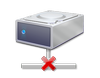 Disco, rete, disconnesso, LAN, scollegato, disco di rete, network disk